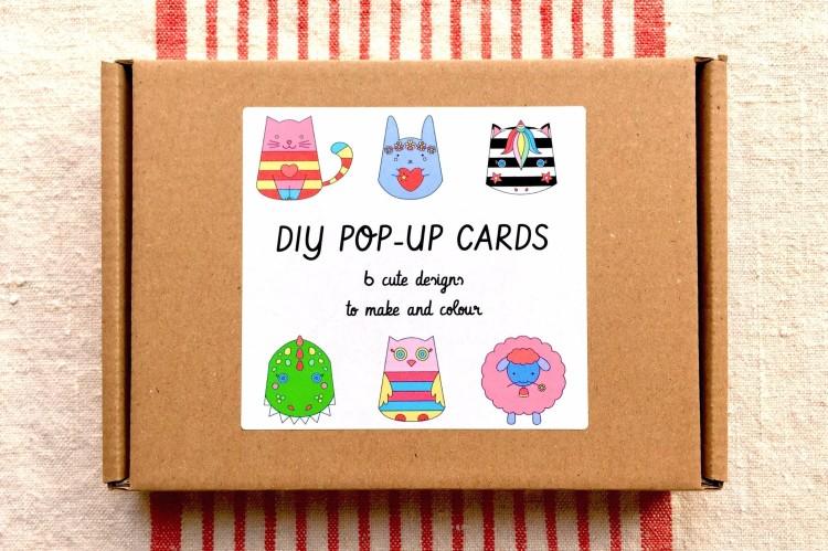 DIY pop-up card kit by Love Ink Paper Sissors