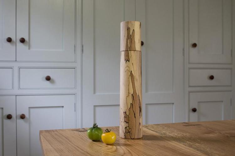 irish wood pepper grinder