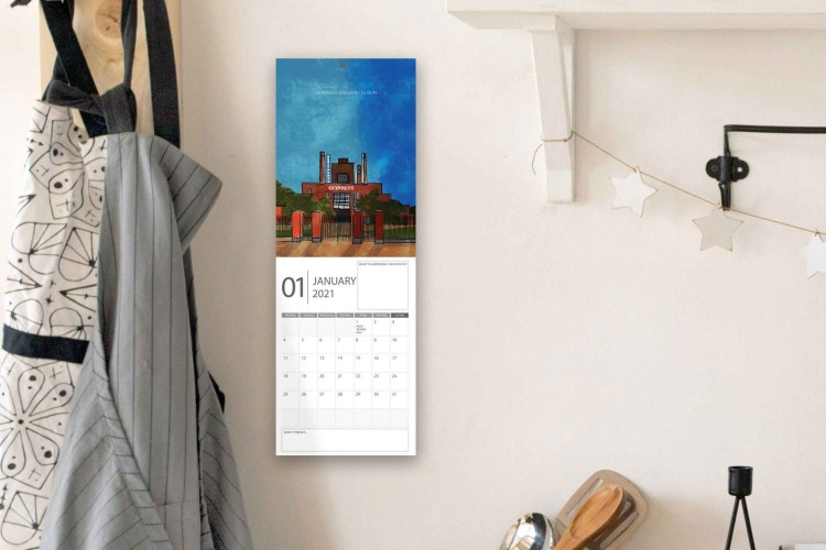 Irish buildings calendar 2021
