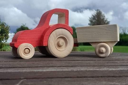 Irish wood toys